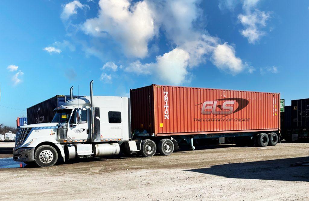Intermodal Container Drayage Lonestar Trucking